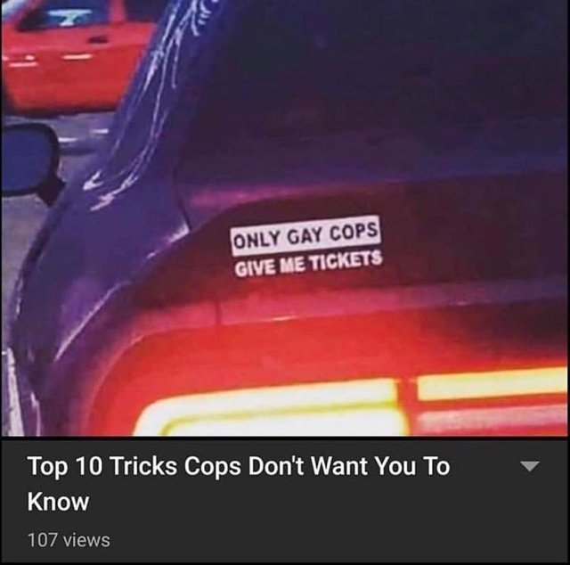 Top 10 tricks copos don't want you to know - meme
