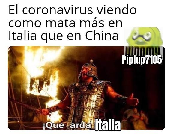 QUE ARDA ITALIAAAA - meme