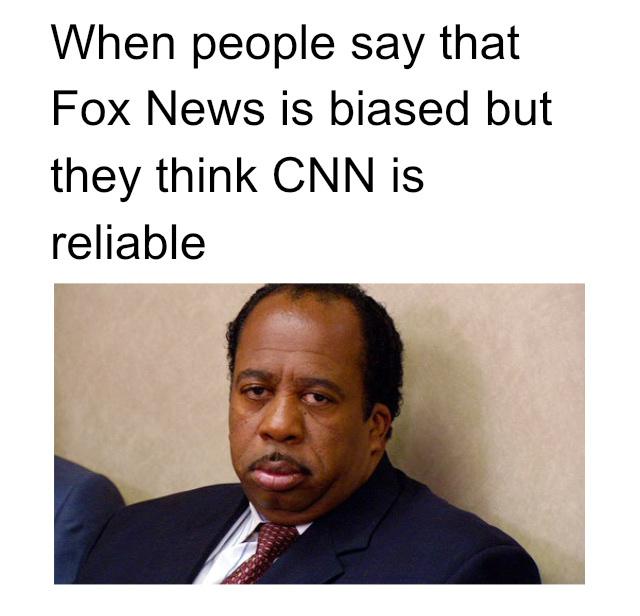Fox News vs CNN political meme