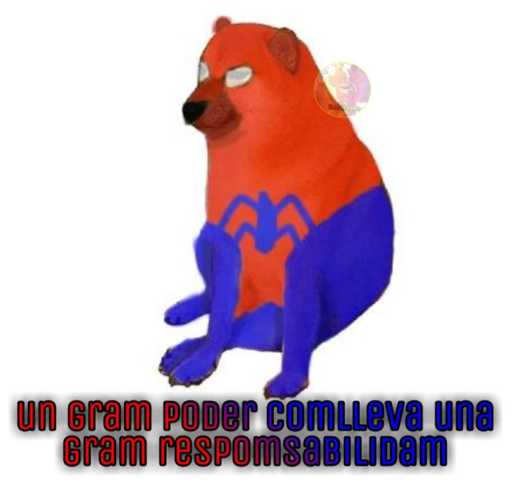 Spider-cheems - meme