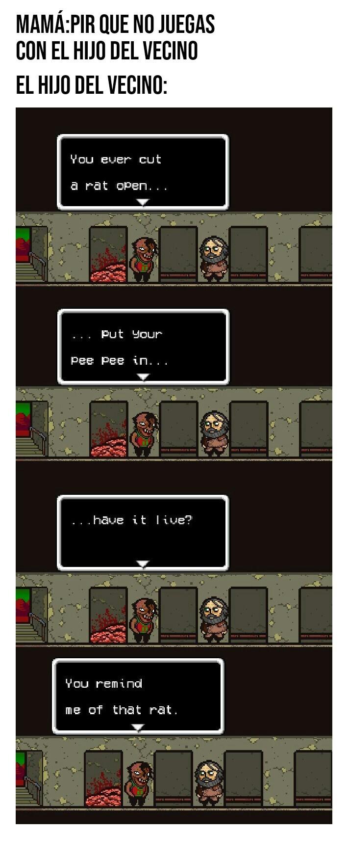 El wey de los fetiches raros en Lisa - meme
