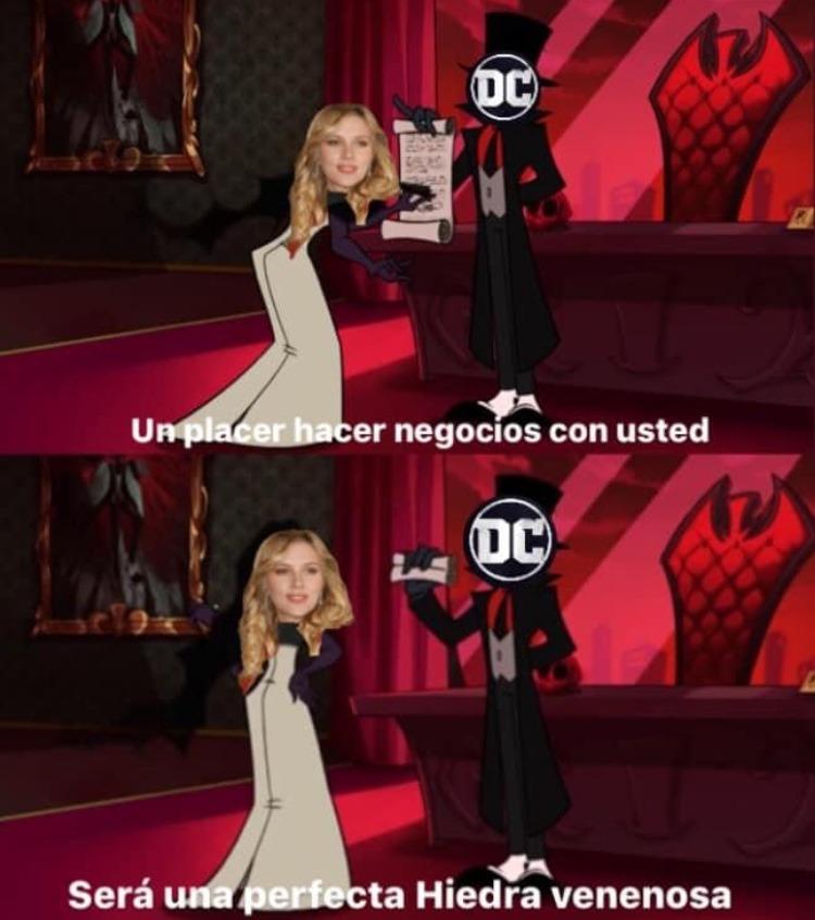 mientras tanto en Warner Bros - meme