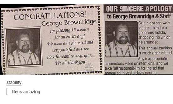 Well played George, wel played - meme