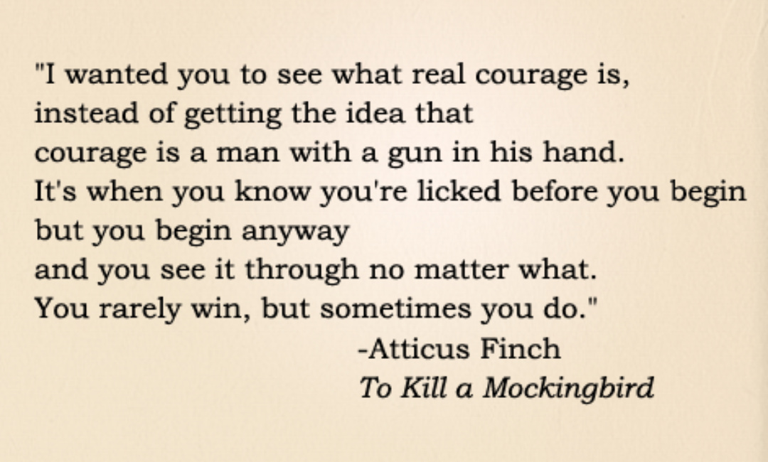 to kill a mockingbird essay emotional moral courage ''to kill a mockingbird'' tells the story a racially divided town in the 1930s south the theme of courage is apparent throughout the story as.