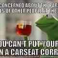Car seats are more dangerous