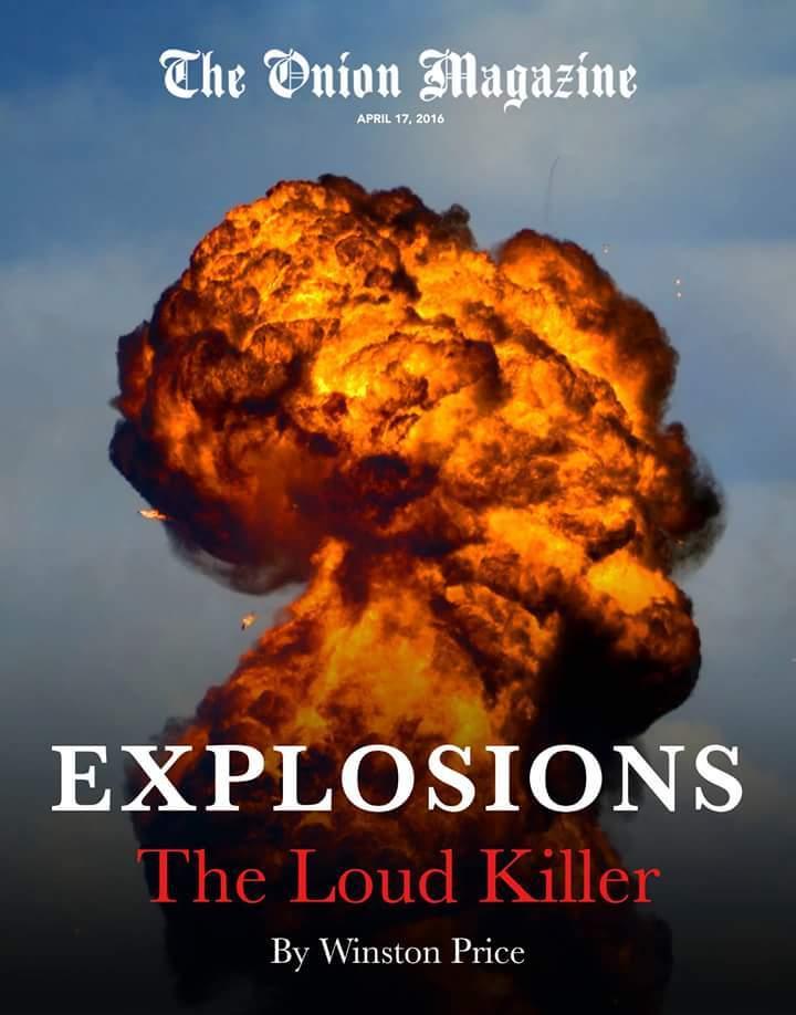 Explosions - meme