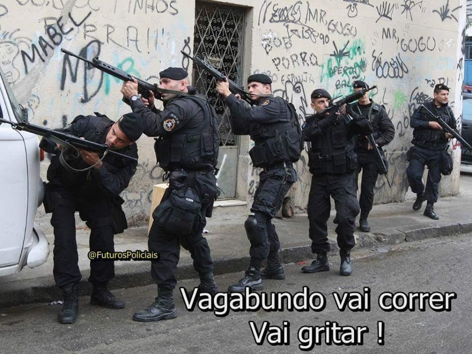 adoro essas postagens da policia - meme