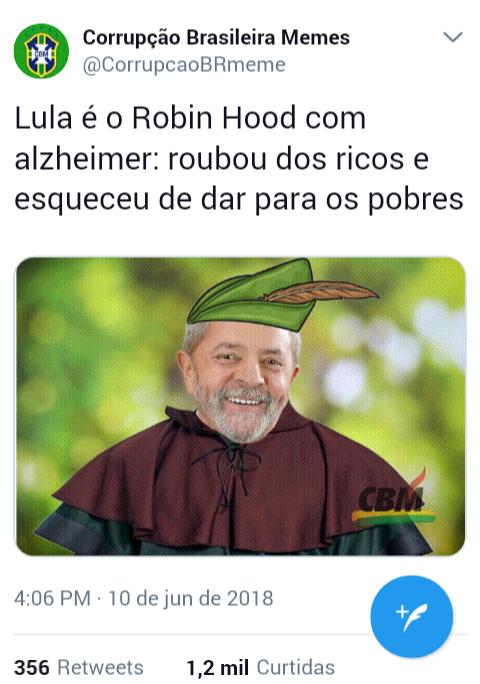 Guerreiro do povo brasileiro - meme