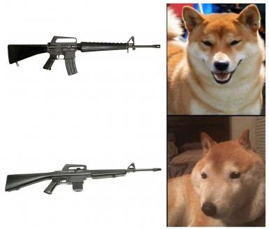 M4 dogo - meme