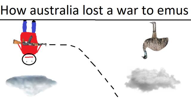 How Australia lost a war to emus - meme