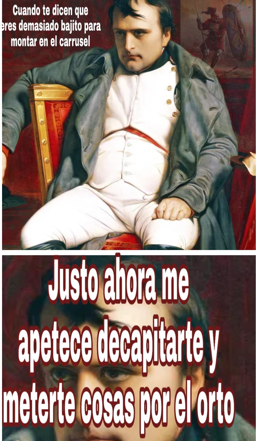 Ste Napoleon.. - meme
