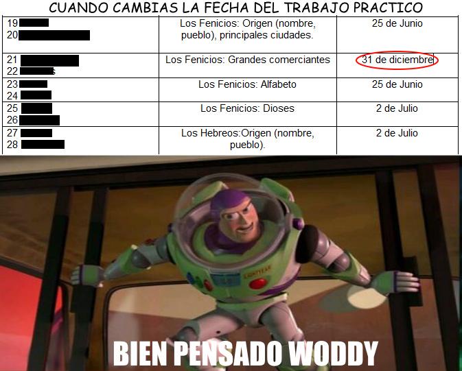 BIEN PENSADO WODDY - meme