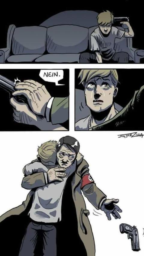 Siempre serás mi héroe :'D - meme