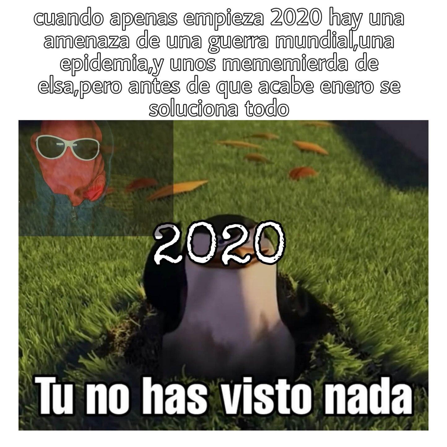 2020,te voy a dar otra oportunidad,espero que no la cagues - meme