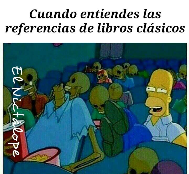 Libro clásico - meme