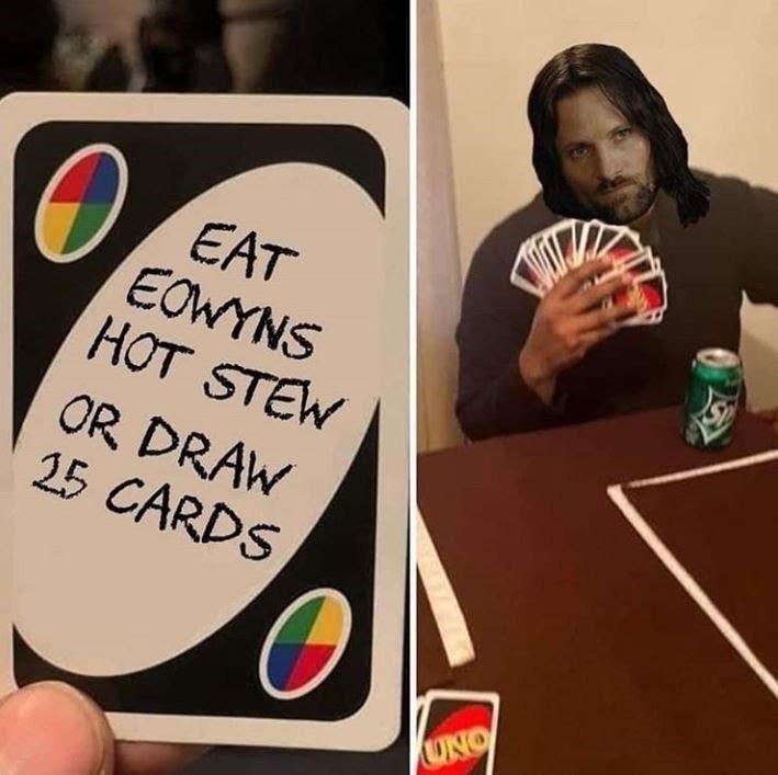 Merry x Eowyn OTP - meme