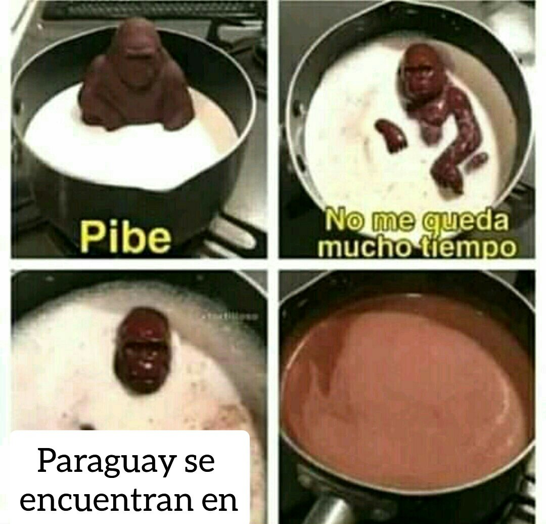 Adónde está Paraguay - meme