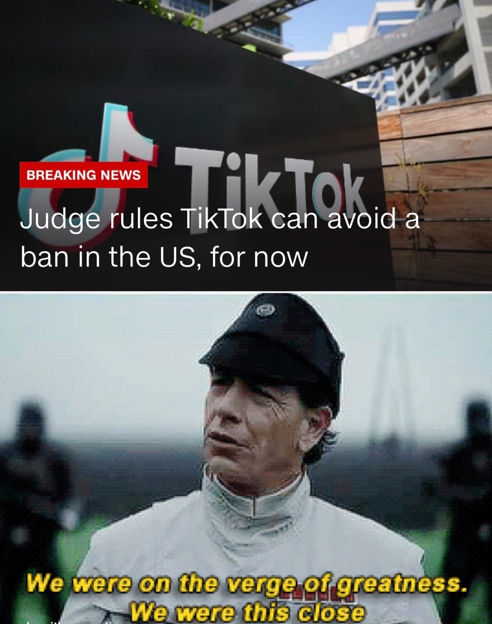 we almost did it boys - meme