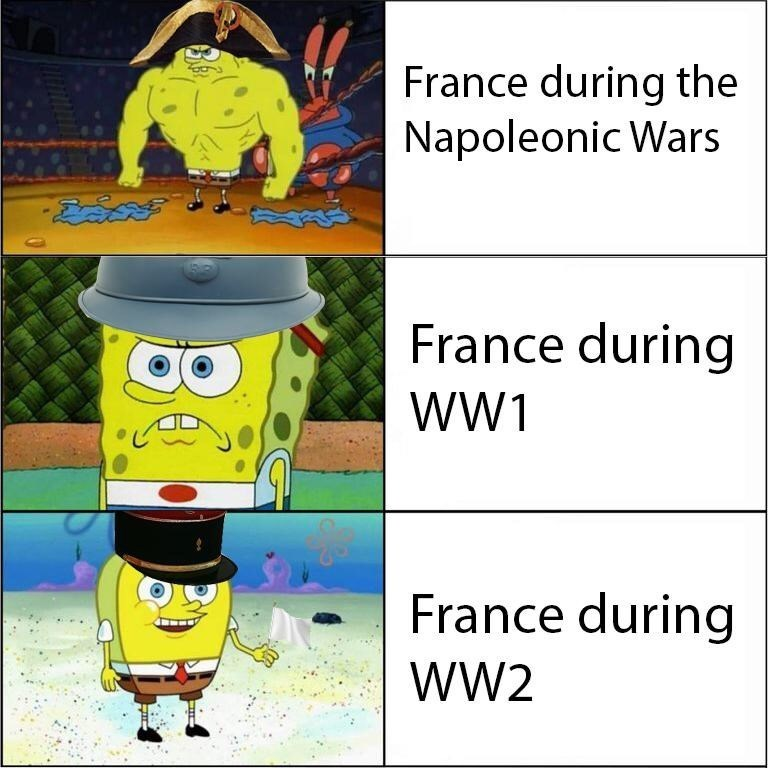 France in a nutshell - meme
