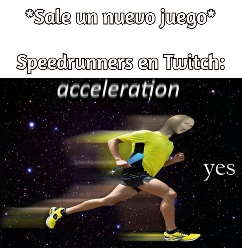 Velocidad, soy veloz :allthethings: - meme
