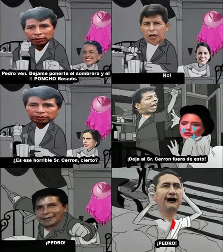 castillo Terrones nuevo rey del Perú ordena la expropiacion de momosdroid - meme