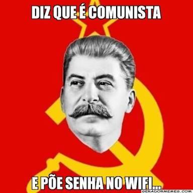 E aí comunistas? - meme