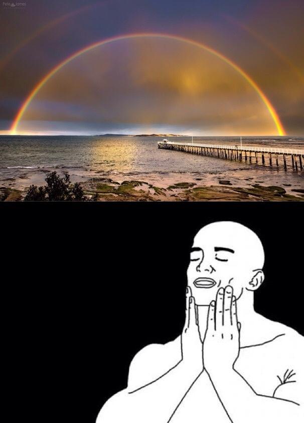 Perfect Double Rainbow - meme
