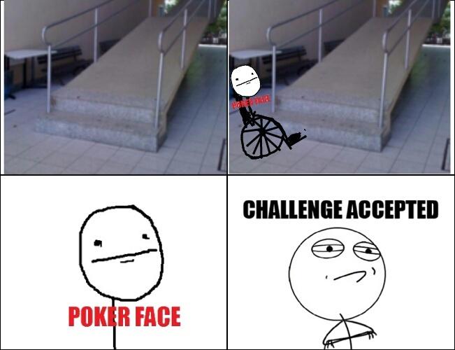 Cadeirante - meme