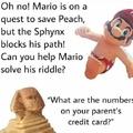 Mario made me nut