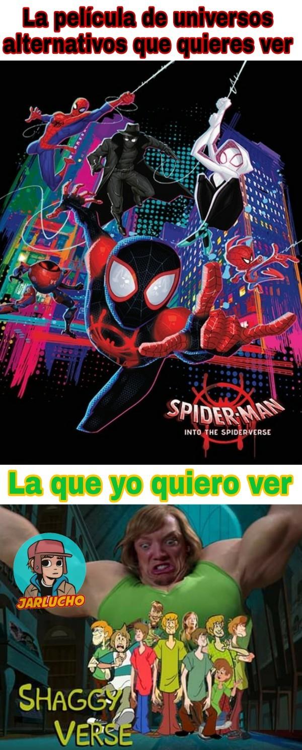 SpiderVerse sigue siendo una Joya - meme