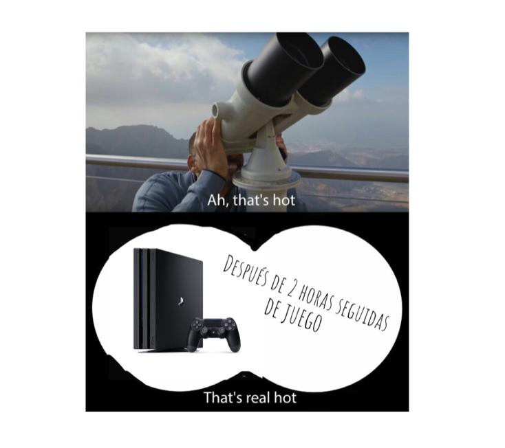 Es como un horno - meme