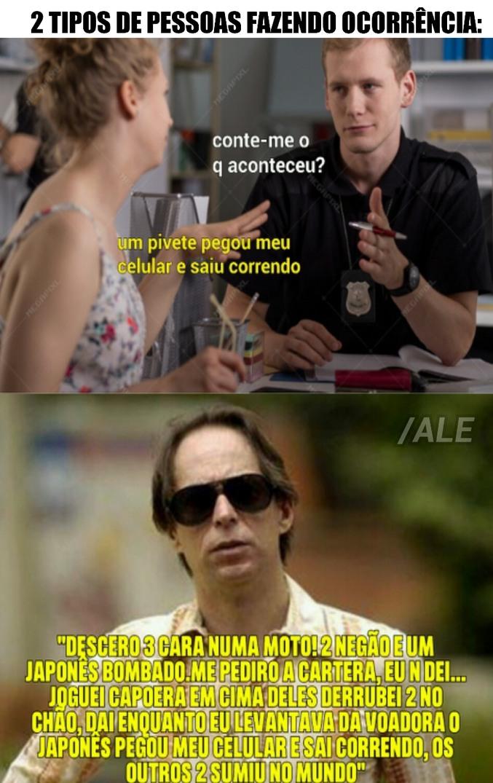 agostinho ocorrência - meme