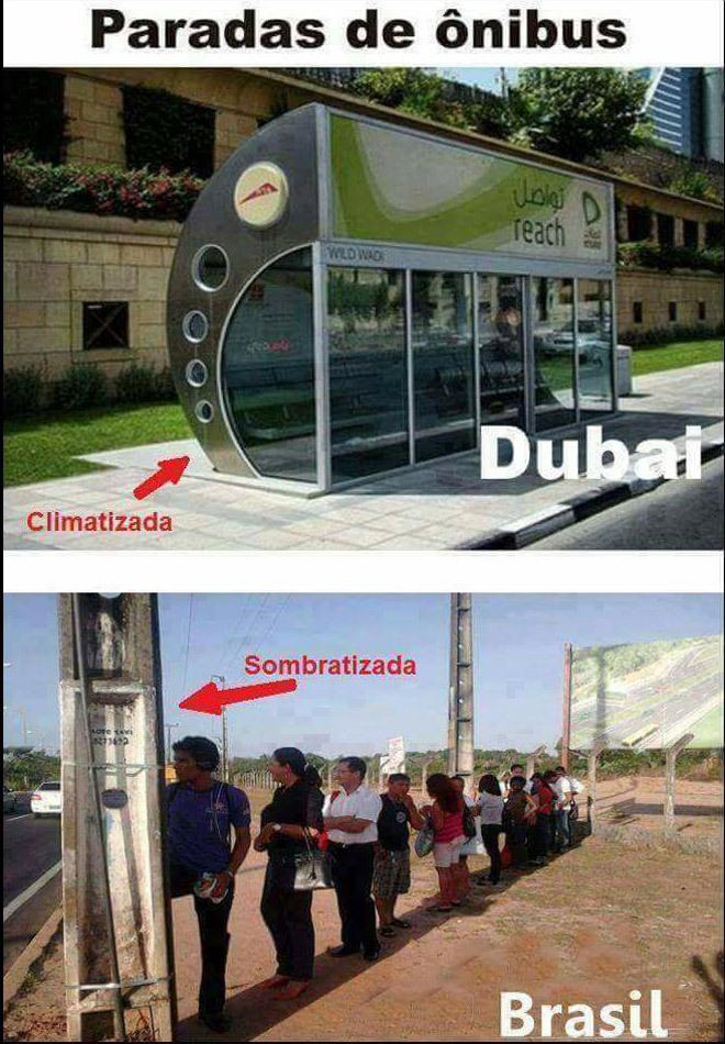 O título foi pra Dubai - meme