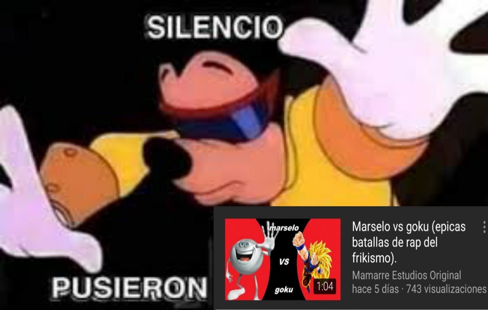 Silencio... - meme
