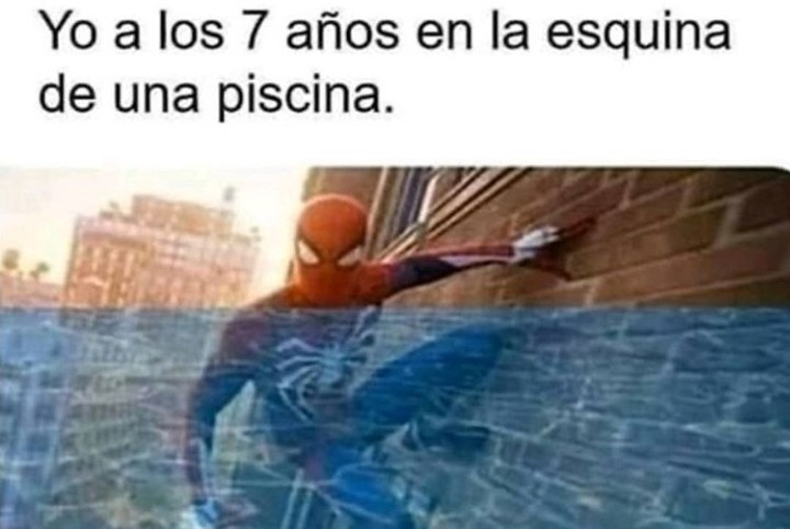 El spiderman - meme