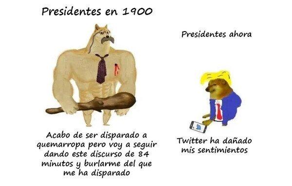presidentes - meme