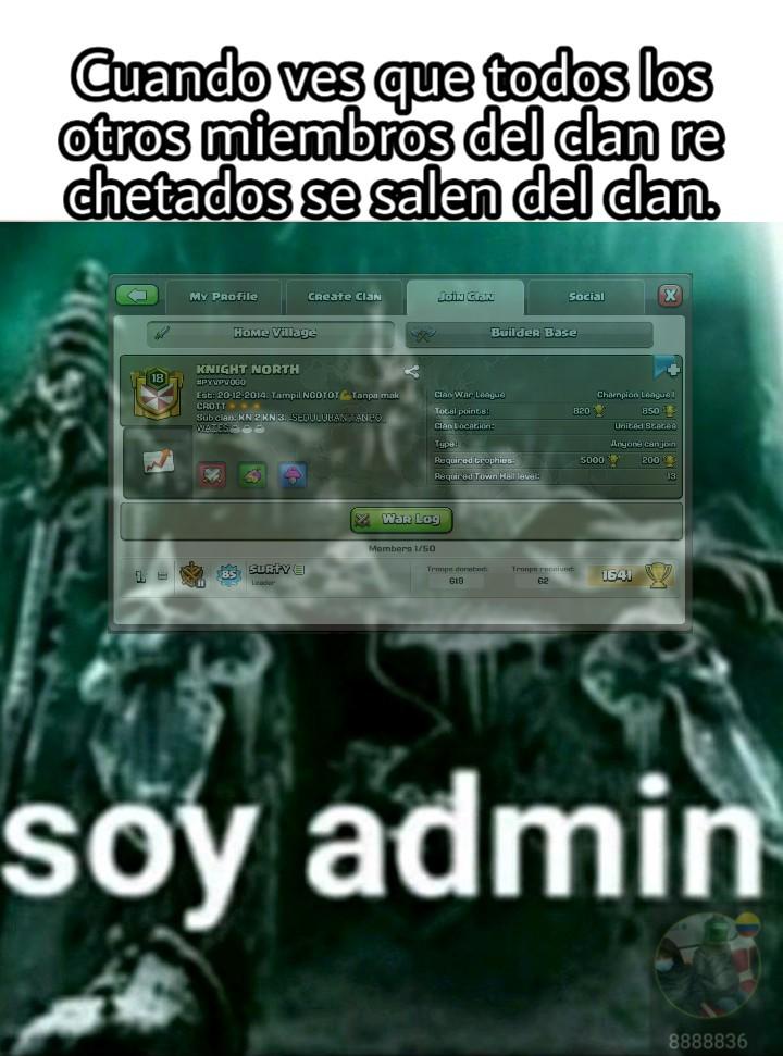 Clash of Clans, qué juegazo. - meme