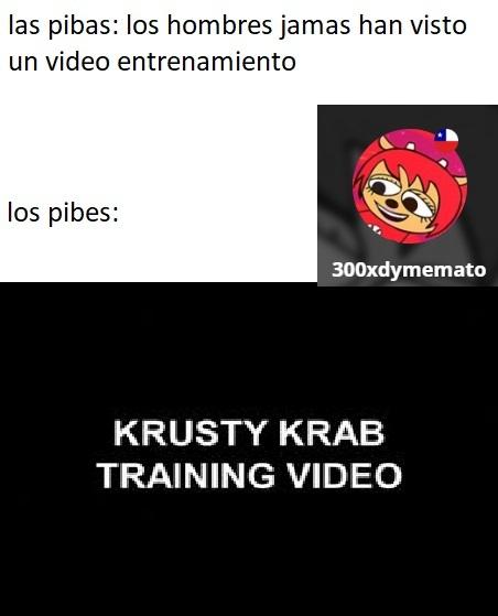 video de entrenamiento del krustaseo kaskarudo - meme