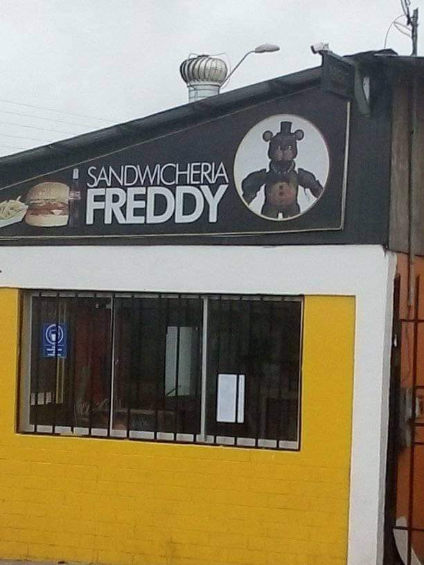Sándwiches de Freddy - meme