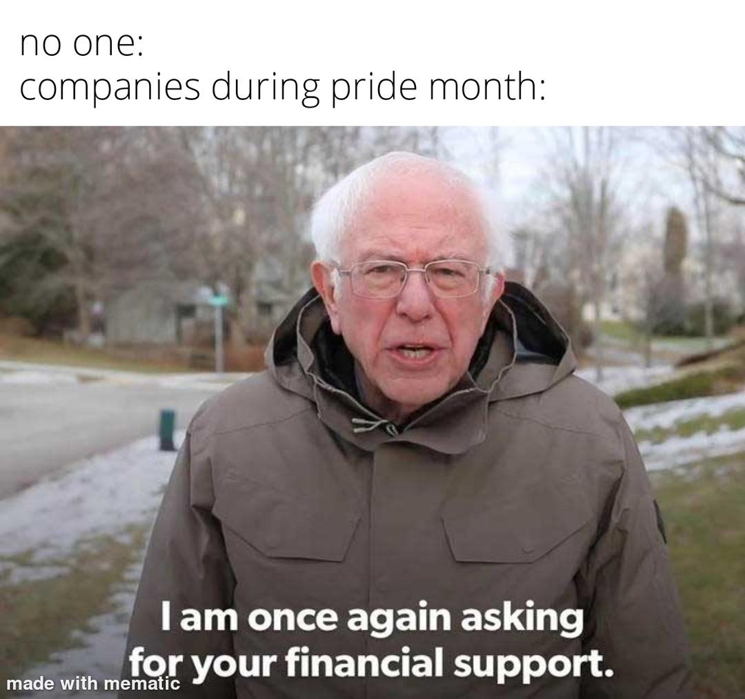 Pride month - meme
