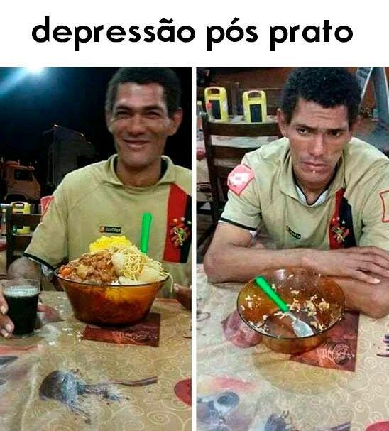 o titulo ta tendo depressão - meme