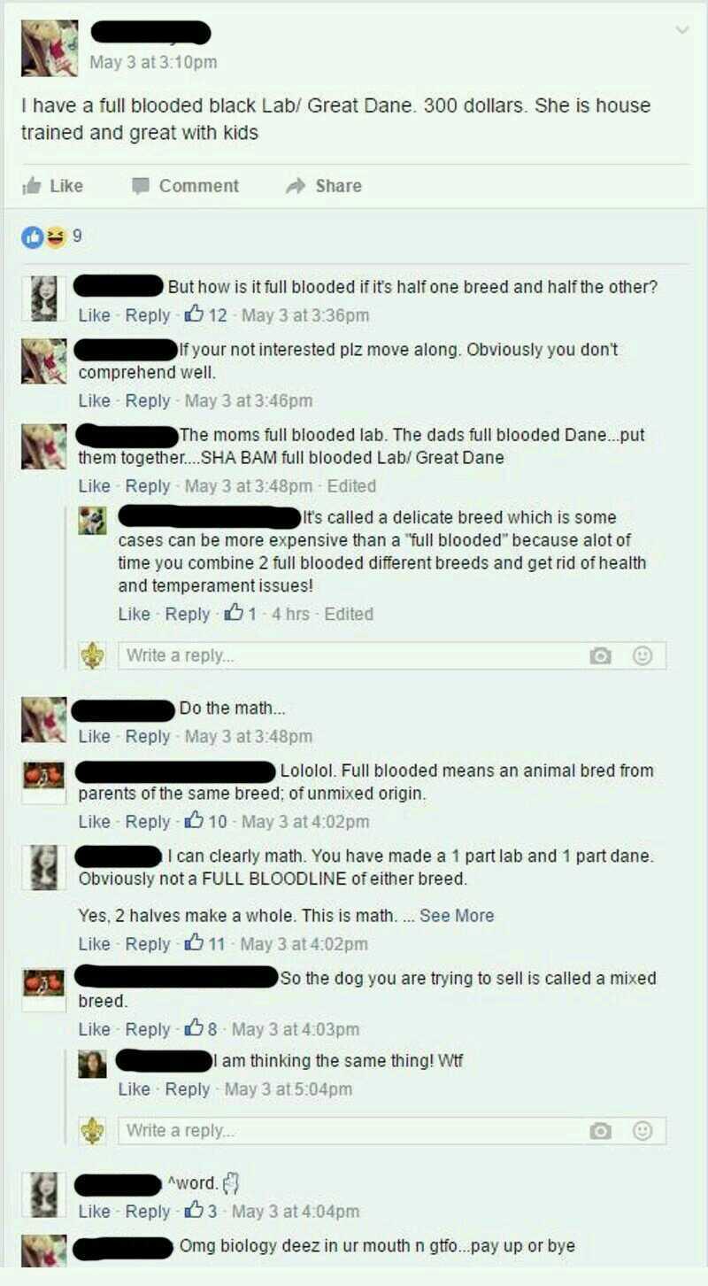 This bitch is half retarded and half stupid. - meme