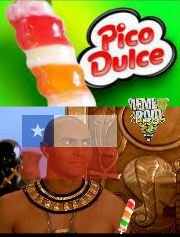 Pico salado - meme