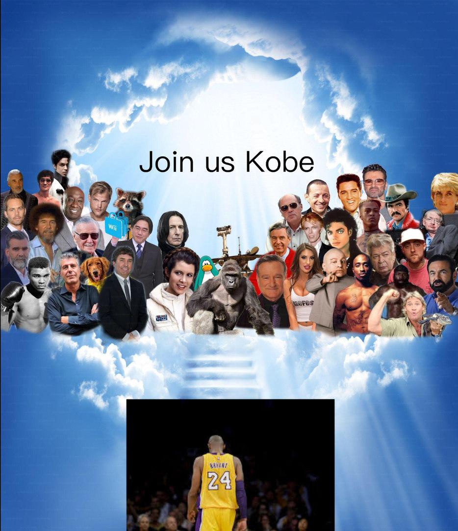 R.I.P. Kobe - meme