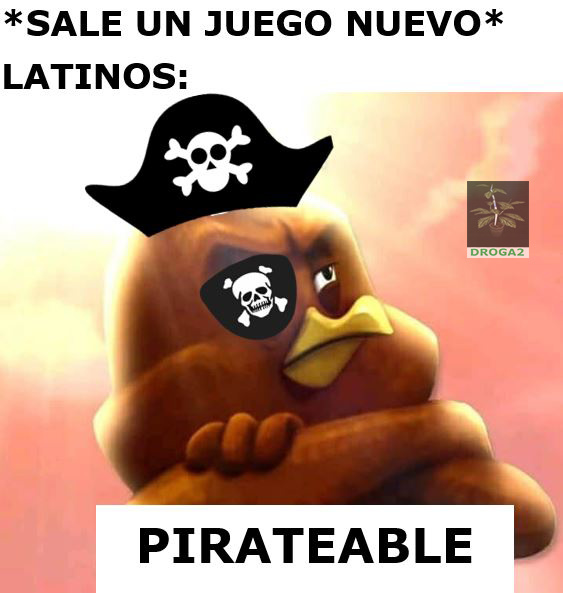 Pirateamos todo - meme