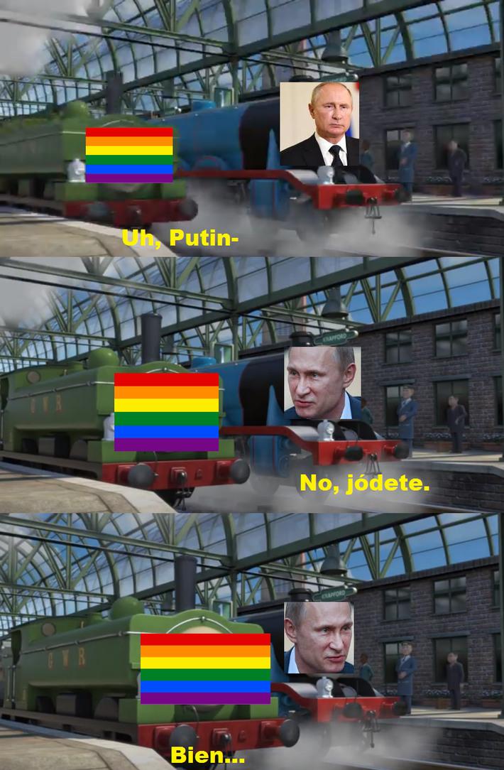 Así es como lo hacemos en La Madre Rusia. - meme