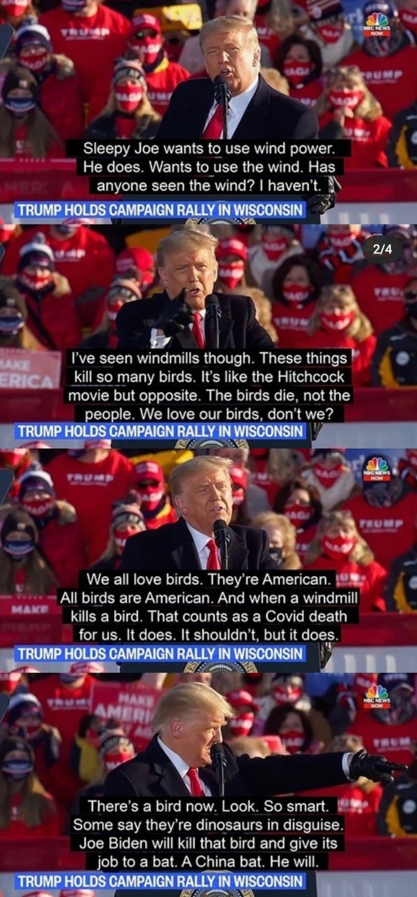 I'll miss having a president with humor - meme