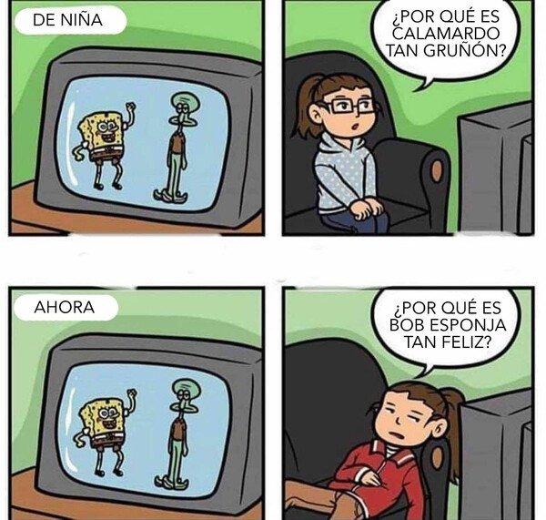 Niñez vs adolescencias - meme