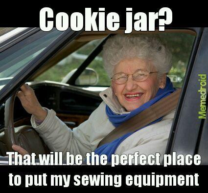 Why grandma - meme