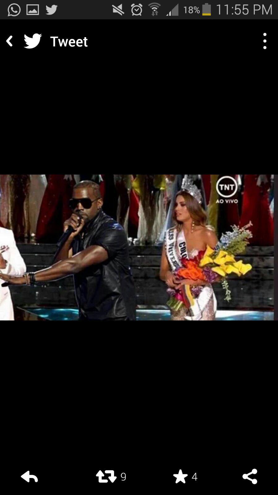 Kanye once again - meme
